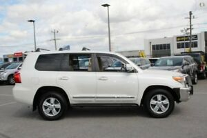 2012 Toyota Landcruiser White Sports Automatic Wagon