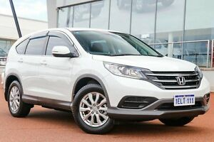 2014 Honda CR-V RM MY15 VTi White 5 Speed Automatic Wagon Wangara Wanneroo Area Preview