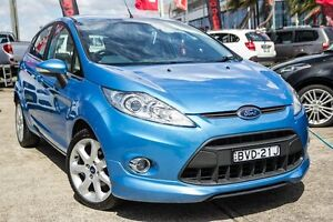 2010 Ford Fiesta WT Zetec Blue 5 Speed Manual Hatchback Blacktown Blacktown Area Preview