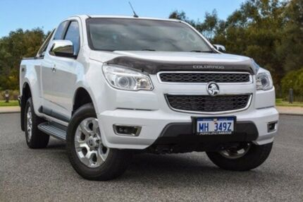 2015 Holden Colorado RG MY15 LTZ Space Cab White 6 Speed Sports Automatic Utility