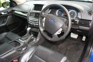 2008 Ford Falcon FG XR6 Dark Blue 5 Speed Auto Seq Sportshift Sedan Briar Hill Banyule Area Preview