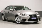 2015 Lexus IS250 GSE30R MY15 Luxury Grey 6 Speed Automatic Sedan Bentley Canning Area Preview