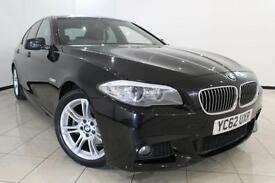 2012 62 BMW 5 SERIES 2.0 520D M SPORT 4DR AUTOMATIC 181 BHP DIESEL