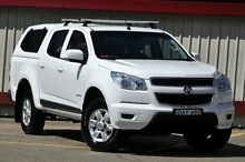2012 Holden Colorado RG LT (4x2) White 6 Speed Automatic Crewcab Homebush Strathfield Area Preview