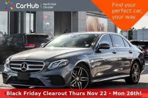 2017 Mercedes-Benz E-Class E 300 4Matic|Sport Wheel Pkg|Burmeste