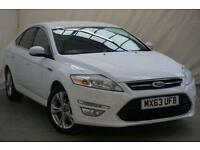 2013 Ford Mondeo FORD MONDEO 2.0 TDCi TITANIUM X 5DR BUSINESS EDITI Diesel white