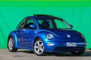 2003 Volkswagen Beetle 9C MY2003 Ikon Blue 5 Speed Manual Liftback Ringwood East Maroondah Area Preview