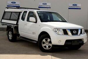 2013 Nissan Navara D40 S8 ST-X King Cab White 5 Speed Automatic Utility Seaford Frankston Area Preview