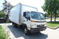 hino 2009 diesel automatique cube 20 pieds