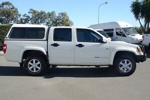 2010 Holden Colorado RC MY11 LX-R Crew Cab White 4 Speed Automatic Utility Acacia Ridge Brisbane South West Preview