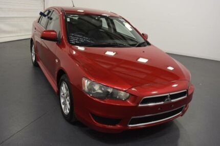 2012 Mitsubishi Lancer CJ MY13 LX Sportback Red 6 Speed CVT Auto Sequential Hatchback Moorabbin Kingston Area Preview