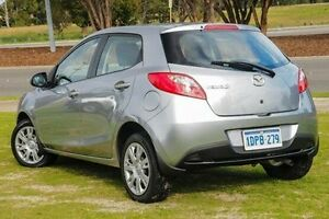 2011 Mazda 2 DE10Y1 MY10 Neo Silver 5 Speed Manual Hatchback Wangara Wanneroo Area Preview