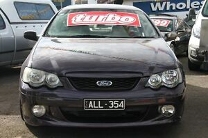 2004 Ford Falcon BA MkII XR6T Purple 6 Speed Manual Sedan Briar Hill Banyule Area Preview