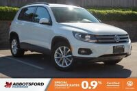 2017 Volkswagen Tiguan Wolfsburg Edition LOCAL, SINGLE OWNER, LO