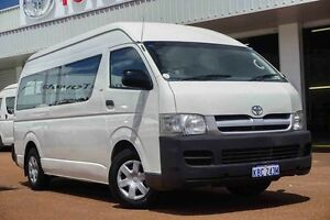2006 Toyota Hiace KDH222R Commuter High Roof Super LWB White 5 Speed Manual Bus Westminster Stirling Area Preview
