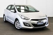 2013 Hyundai i30 GD Active Silver 6 Speed Automatic Hatchback Myaree Melville Area Preview