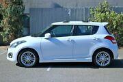 2012 Suzuki Swift FZ Sport White 7 Speed Constant Variable Hatchback Morphett Vale Morphett Vale Area Preview