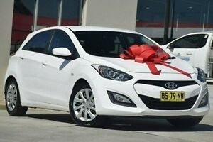 2012 Hyundai i30 GD Active White 6 Speed Sports Automatic Hatchback Thornleigh Hornsby Area Preview