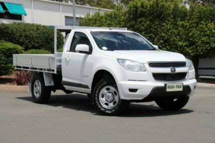 2014 Holden Colorado RG MY15 LS 4x2 White 6 Speed Manual Cab Chassis Acacia Ridge Brisbane South West Preview