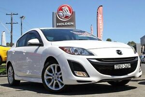 2009 Mazda 3 BL10L1 SP25 White 6 Speed Manual Sedan Liverpool Liverpool Area Preview