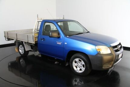 2009 Mazda BT-50 B2500 Boss DX Blue 5 Speed Manual Cab Chassis Welshpool Canning Area Preview