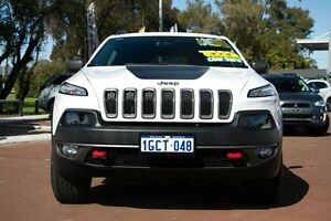 2014 Jeep Cherokee KL Trailhawk White 9 Speed Sports Automatic Wagon Cannington Canning Area Preview