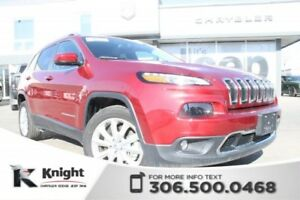 2017 Jeep Cherokee Limited - Enhanced Accident Response - Keyles