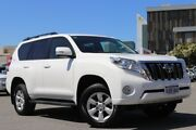 2016 Toyota Landcruiser Prado GDJ150R MY16 GXL (4x4) Glacier White 6 Speed Automatic Wagon Northbridge Perth City Area Preview