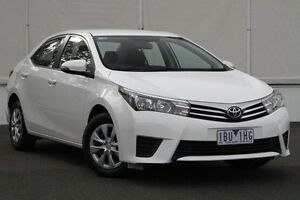 2014 Toyota Corolla ZRE172R Ascent S-CVT White 7 Speed Constant Variable Sedan Upper Ferntree Gully Knox Area Preview