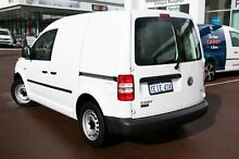 2013 Volkswagen Caddy 2KN MY13 TDI250 SWB Candy White 5 Speed Manual Van Cannington Canning Area Preview