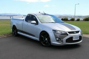 2009 Ford Performance Vehicles Super Pursuit FG Silver 6 Speed Manual Utility Invermay Launceston Area Preview