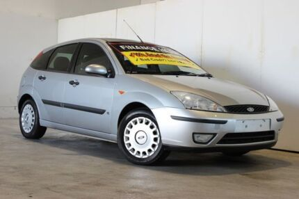 2004 Ford Focus LR CL Silver 5 Speed Manual Hatchback Underwood Logan Area Preview