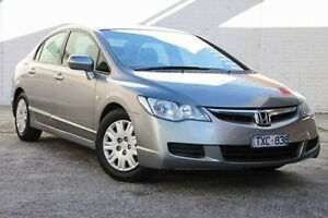 2006 Honda Civic 8th Gen VTi Silver 5 Speed Automatic Sedan Doncaster Manningham Area Preview