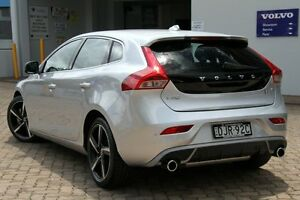 2015 Volvo V40 M Series MY15 T5 Adap Geartronic R-Design Silver 8 Speed Sports Automatic Hatchback Killara Ku-ring-gai Area Preview