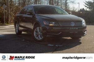 2014 Volkswagen Passat Trendline NO ACCIDENTS, LOCAL CAR, SUPER