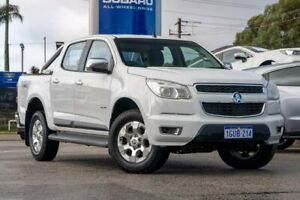 2012 Holden Colorado RG MY13 LTZ Crew Cab White 6 Speed Sports Automatic Utility Greenfields Mandurah Area Preview