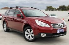 2010 Subaru Outback B5A MY10 2.5i Lineartronic AWD Premium Red 6 Speed Constant Variable Wagon Craigieburn Hume Area Preview