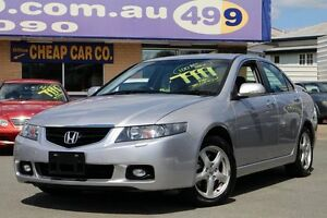 2003 Honda Accord Euro CL Luxury Silver 5 Speed Automatic Sedan Greenslopes Brisbane South West Preview