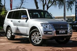 2015 Mitsubishi Pajero NX MY16 GLS Silver 5 Speed Sports Automatic Wagon Wilson Canning Area Preview