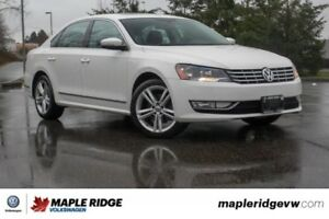 2015 Volkswagen Passat Highline NO ACCIDENTS, BC CAR, LOW KILOME