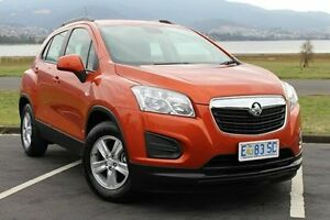 2015 Holden Trax TJ MY15 LS Orange 6 Speed Automatic Wagon Invermay Launceston Area Preview