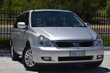 2013 Kia Grand Carnival VQ MY13 S Silver 6 Speed Sports Automatic Wagon Pearce Woden Valley Preview