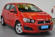 2015 Holden Barina TM MY16 CD Red 6 Speed Automatic Hatchback Brooklyn Brimbank Area Preview