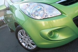 2011 Hyundai i20 PB MY11 Active Green 4 Speed Automatic Hatchback Wolli Creek Rockdale Area Preview