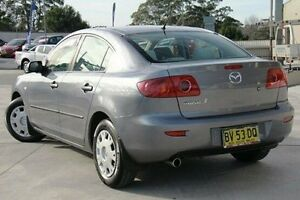 2004 Mazda 3 BK10F1 Neo Grey 4 Speed Sports Automatic Sedan Pennant Hills Hornsby Area Preview