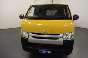 2015 Toyota Hiace KDH201R MY15 LWB Yellow 4 Speed Automatic Van