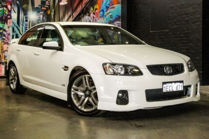 2012 Holden Commodore VE II MY12 SV6 White 6 Speed Sports Automatic Sedan Perth Perth City Area Preview