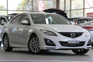 2012 Mazda 6 6C Touring White 6 Speed Automatic Sedan Roseville Ku-ring-gai Area Preview