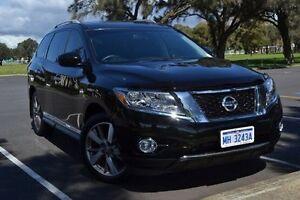 2014 Nissan Pathfinder R52 MY15 Ti X-tronic 4WD Black 1 Speed Constant Variable Wagon Mandurah Mandurah Area Preview