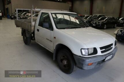1999 Holden Rodeo TF R9 LX White Manual Cab Chassis